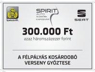 Újra 300.000-es dobóverseny
