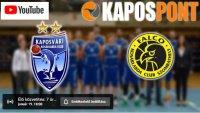 Ismét online közvetítés a KaposPonton